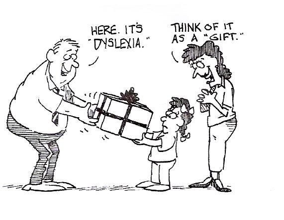 Dyslexia as a gift