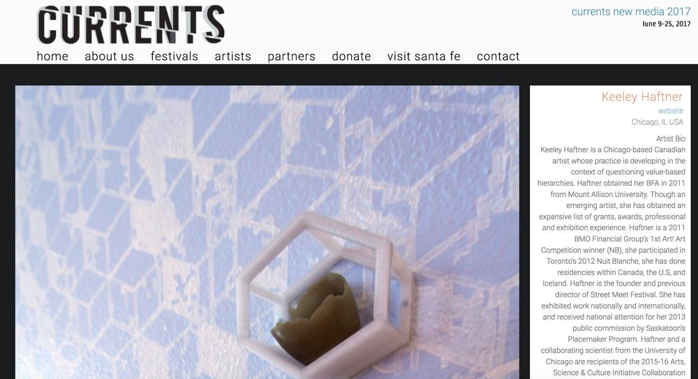 2016: Currents New Media, form & concept