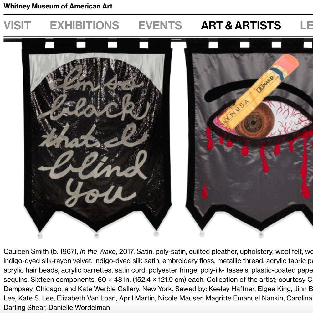 2017: Cauleen Smith, Whitney Biennial