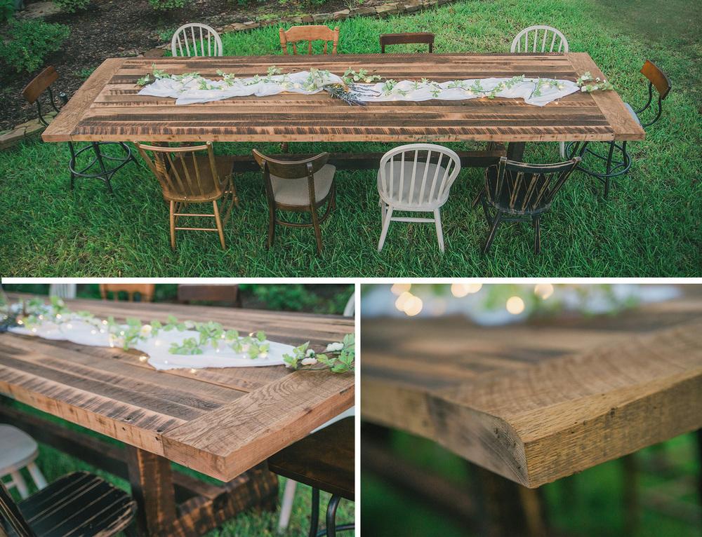 Deerman Designs Ft Reclaimed Table Lainie Deerman Photography - 12 ft picnic table