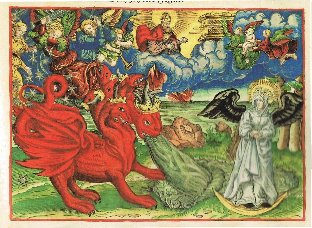 Rev. 12 - the woman and the dragon