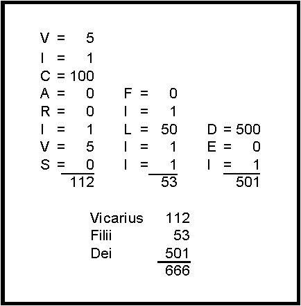 rev. 13 - number 666