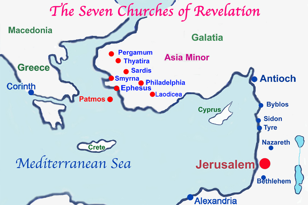 the seven churches