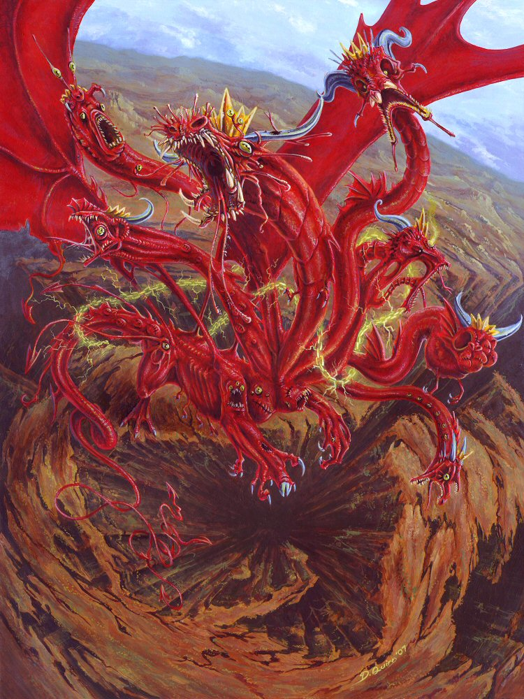 rev. 12 - the red dragon