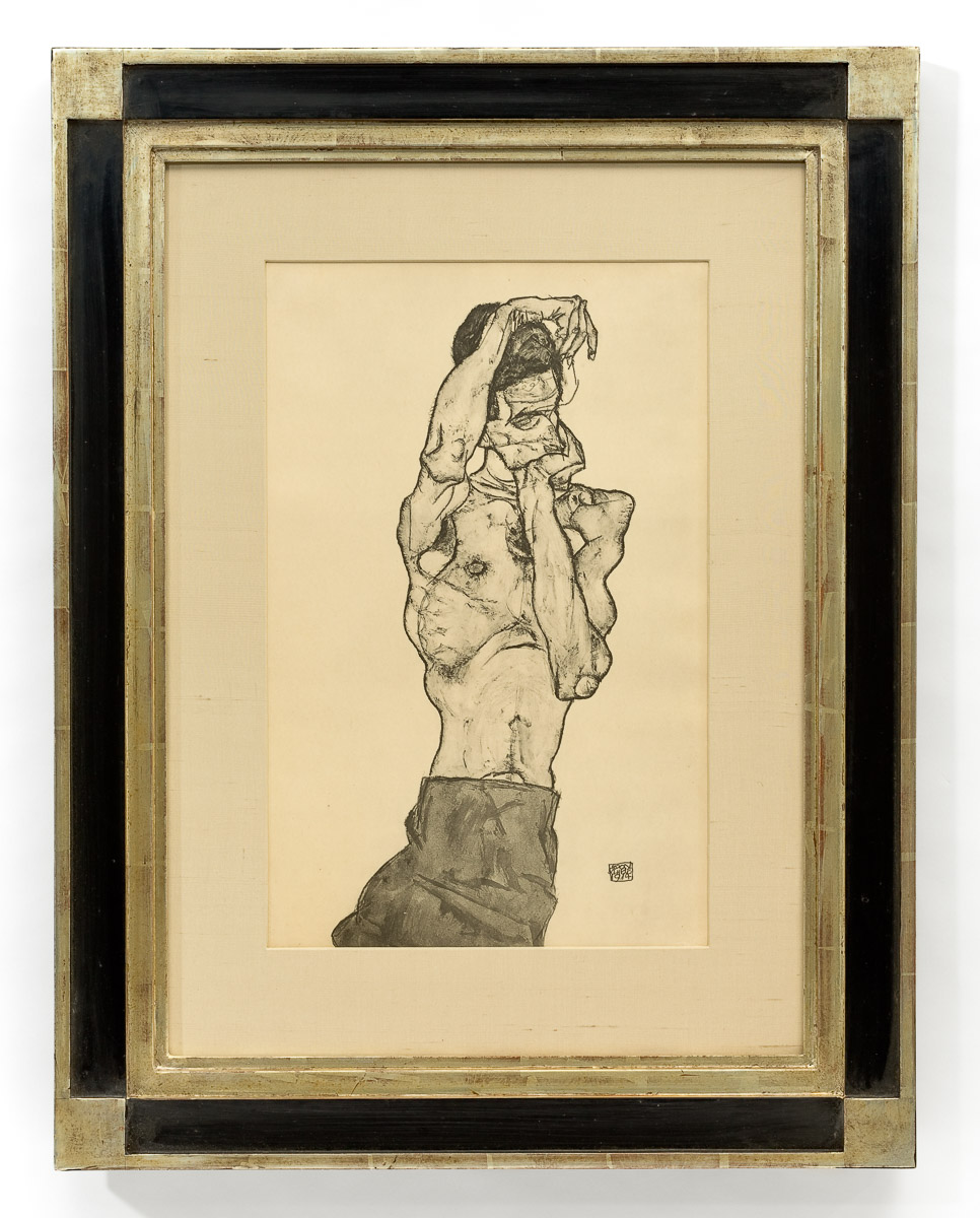 Artwork by: Egon Schiele