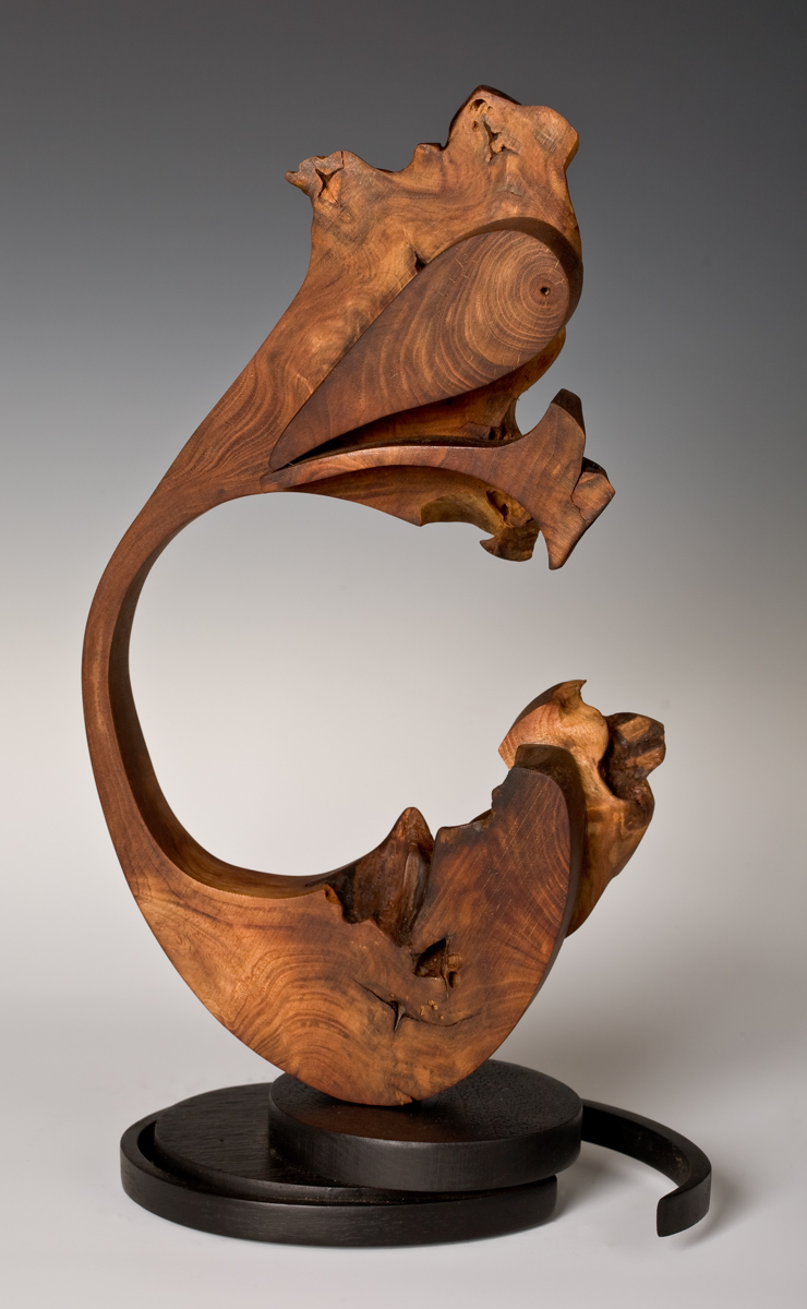 Wood Sculpture by: Barbara barss