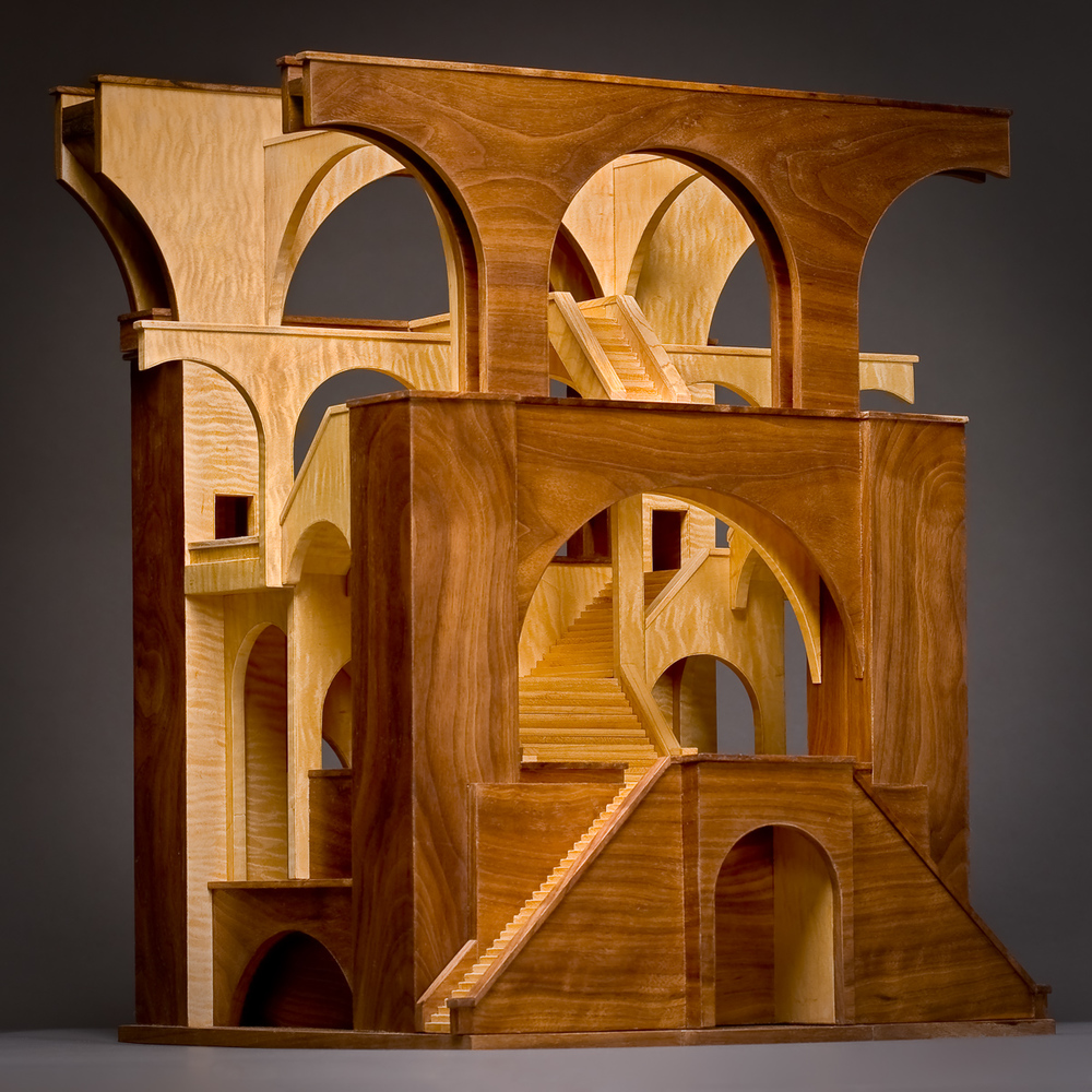 Wood Sculpture by: Jay Rogers