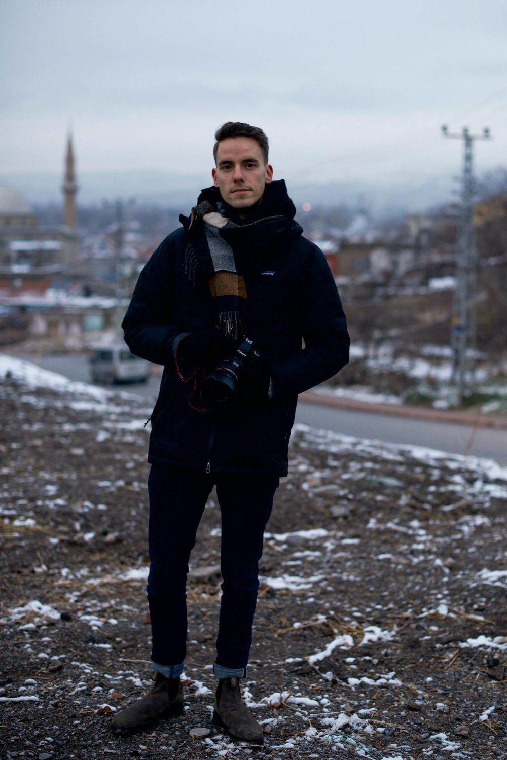 Reporting in Kayseri, Turkey in Dec. 2017.