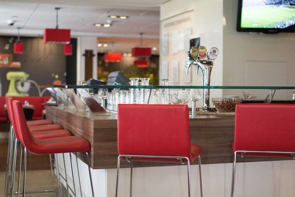 Hotel Ibis is very modern!