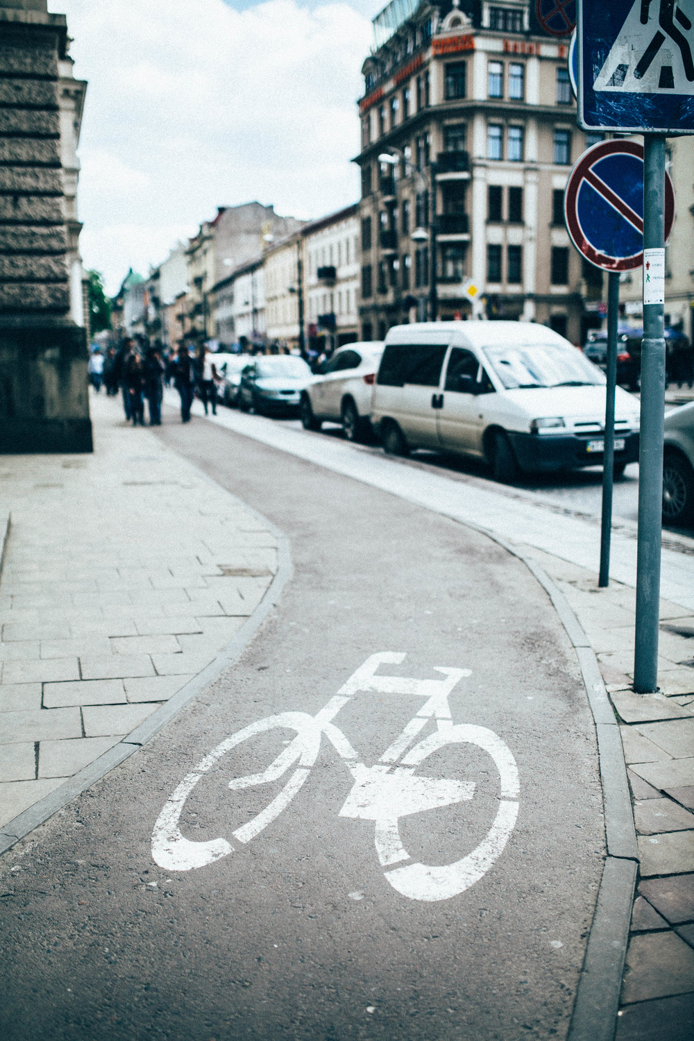 Bike Lane, Lviv Ukraine