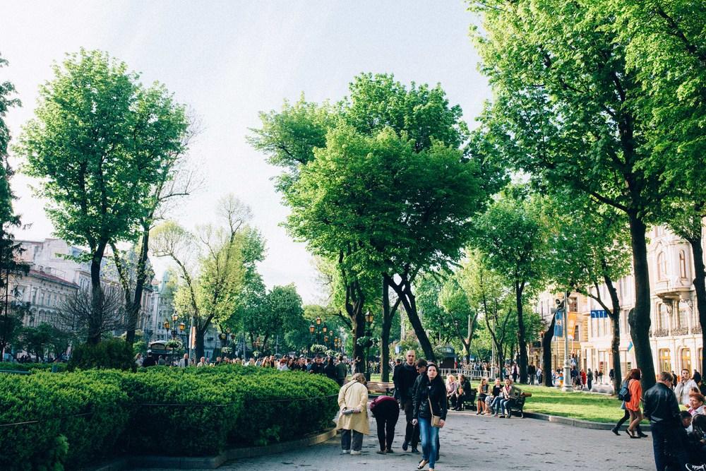 Spring time, Lviv, Ukraine