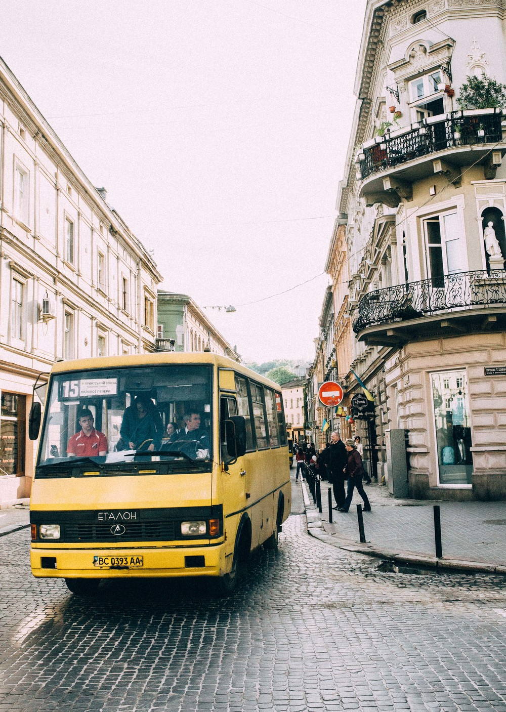 Marshutka, Lviv, Ukraine