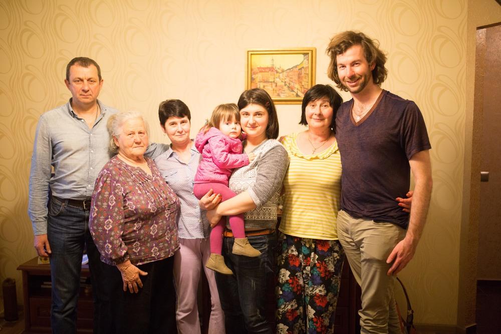 Katya, Marusia, Roxalana, Oksana, Vira, Me.