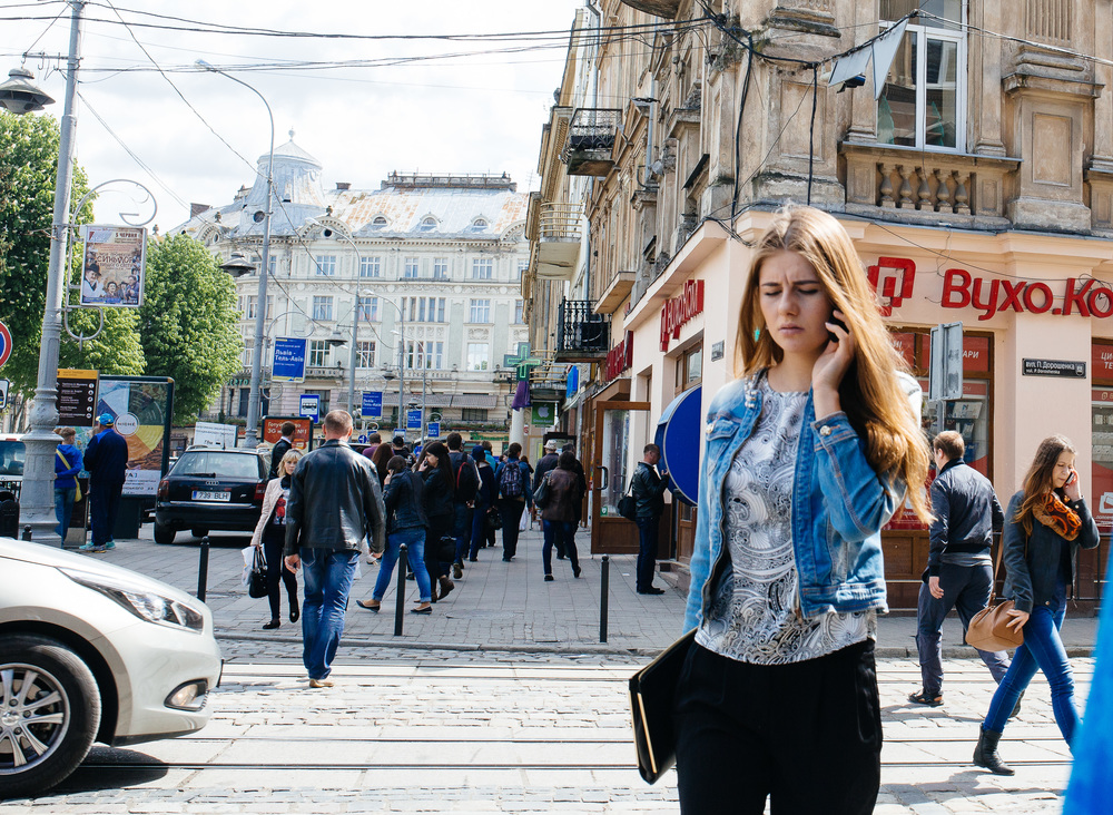 Streets of Lviv.