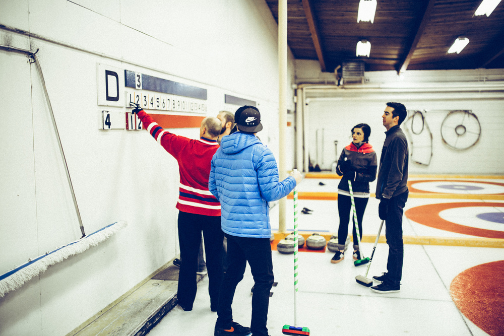 Roger explains the rules of curling.