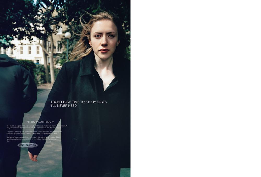 A gency: Arnold Worldwide Photography: Nick Waplington Art Direction: Alisha Goldstein