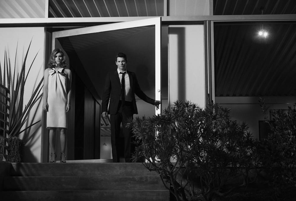 Kate Mara and James Marsdenfor Yahoo Style