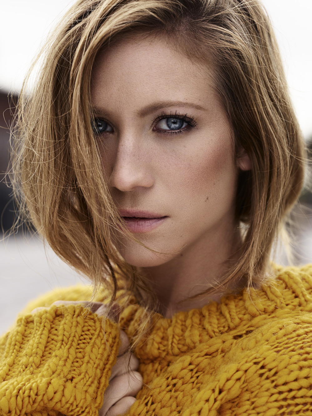 Brittany Snow for Yahoo Style