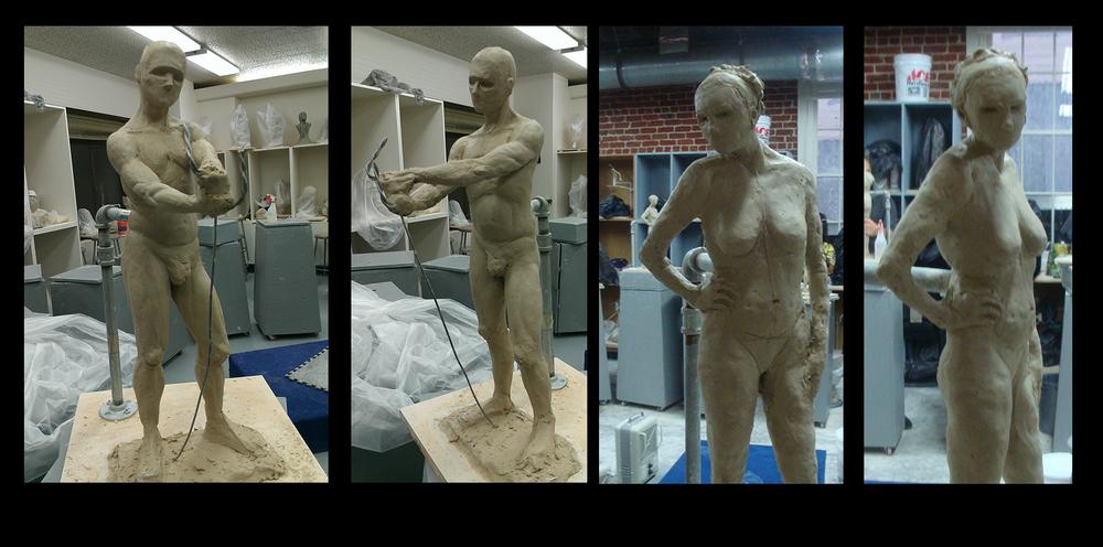 1-3 Hour Gesture Sculpts