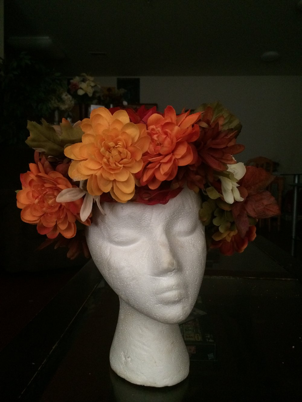 This is a flower halo I designed.
