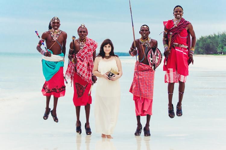Wedding Neptune beach Resort Diani Kenya Love story свадебный фотограф заграницей в Кении и Занзибар невеста массаи