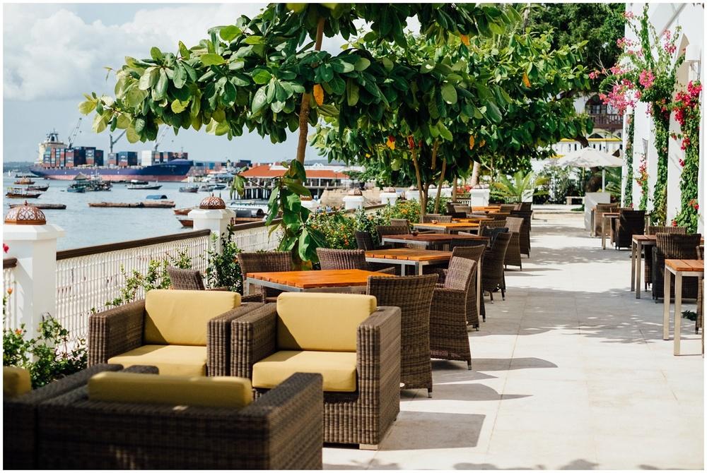 Zanzibar City Park Hyatt Tanzania Africa View Port lounge