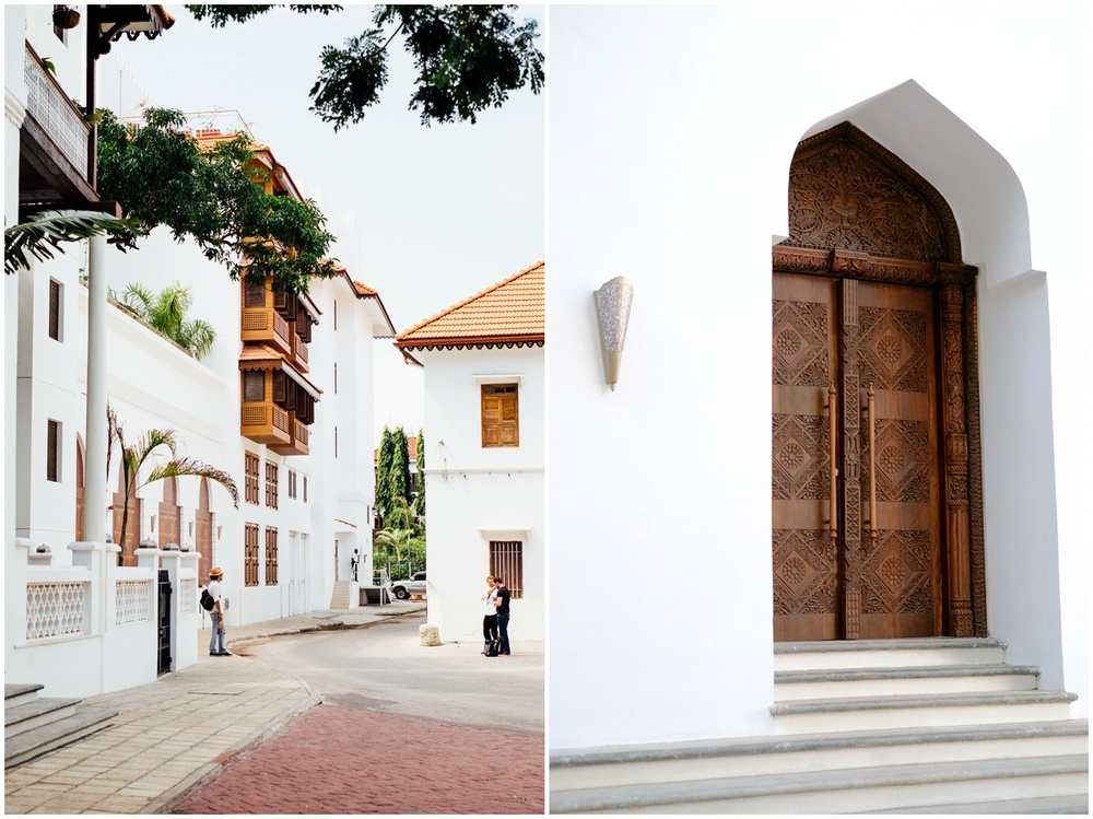 Zanzibar City Park Hyatt Tanzania Africa Entrence door