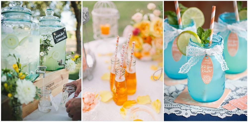 Non alcoholic Wedding drinks
