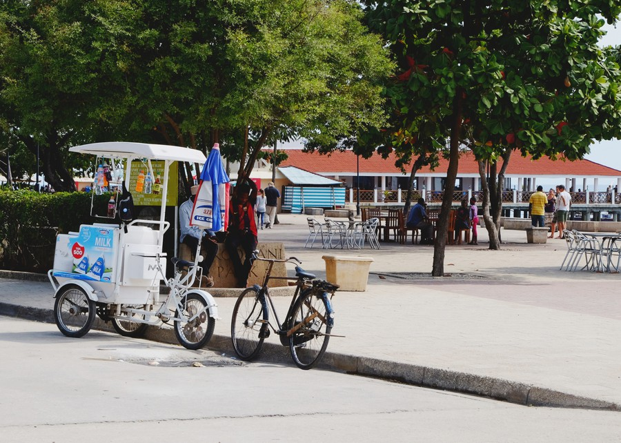 Forodhani Gardens, ice cream