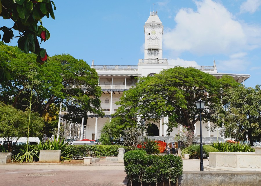 The House of Wonders or Palace of Wonders is a landmark building in Stone Town, Zanzibar. It is the largest and tallest building of Stone Town and occupies a prominent place facing the Forodhani Gardens on the old town's seafront, in Mizingani Road.