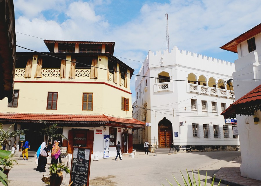Stone town Zanzibar morning