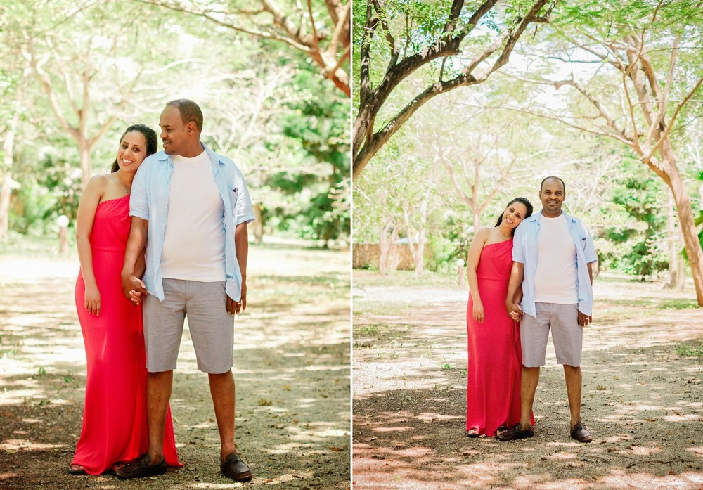 Top Kenyan wedding photographer photograph this engagement session in the Diani Marine Beach.