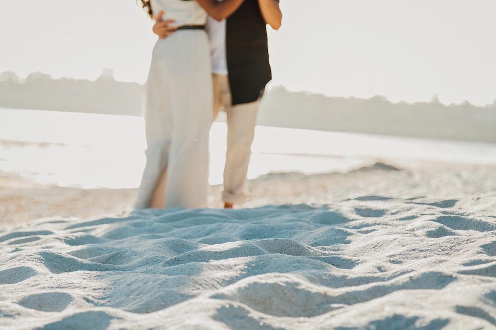 Nyali Beach, Mombasa Engagement Proposal photographer