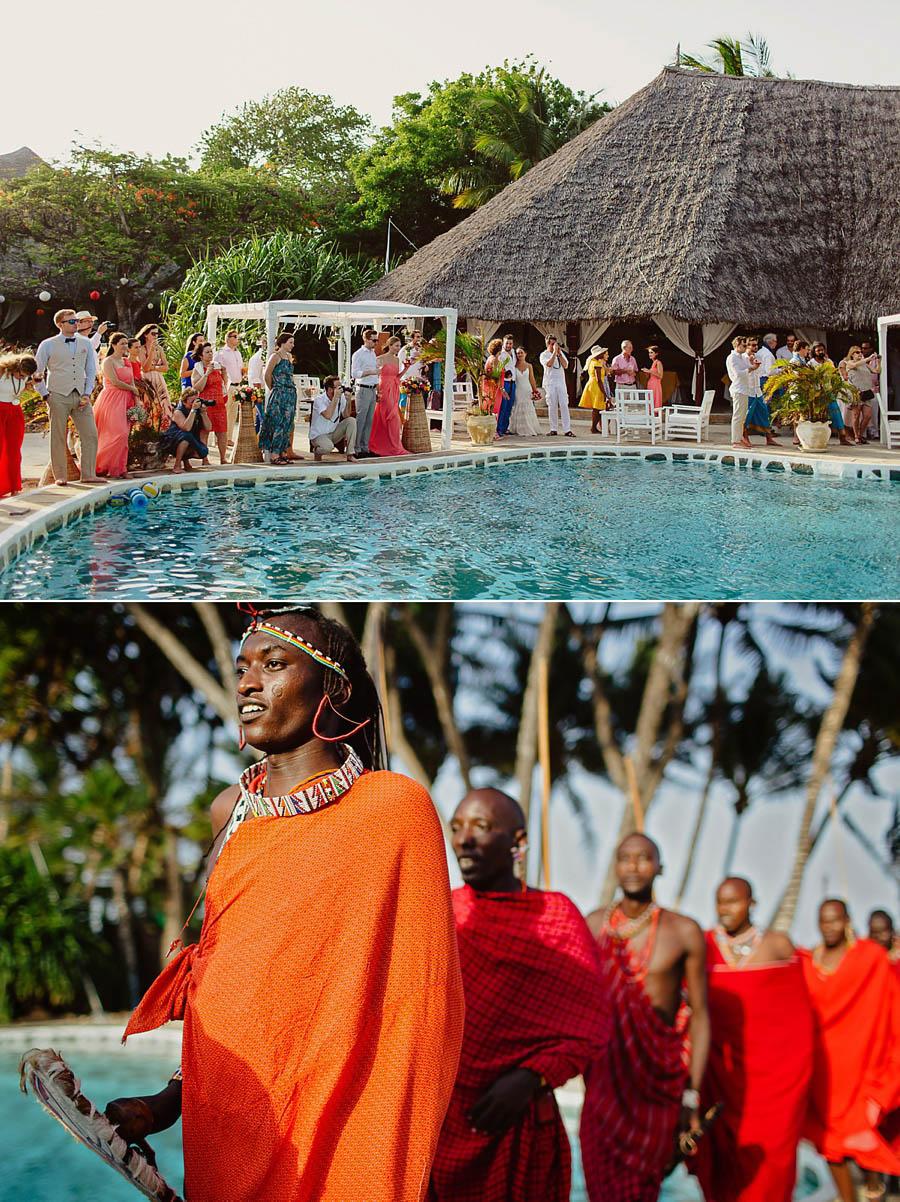 Романтическая русско-кенийская свадьба на пляже Малинди, Кения. Фотограф Лола Коляда. Массаи