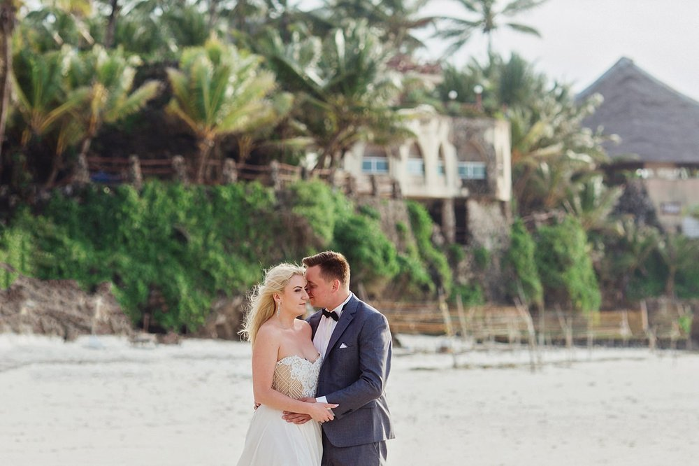 Honeymoon Couple Portraits in Mombasa