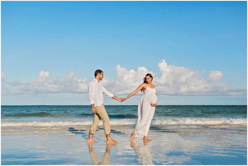 Mombasa Beach Maternity Session
