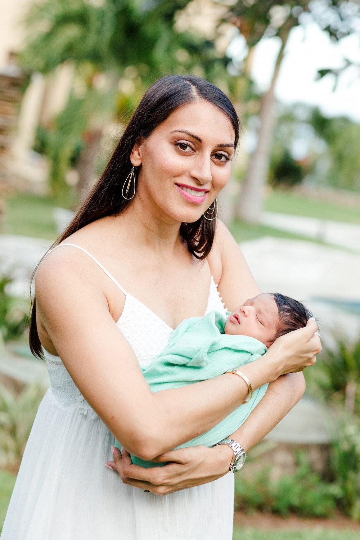 Newborn Baby Family Portraits in Mombasa
