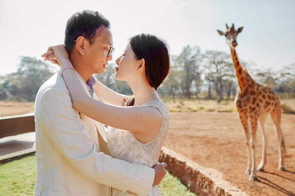 Giraffe Manor Nairobi Wedding