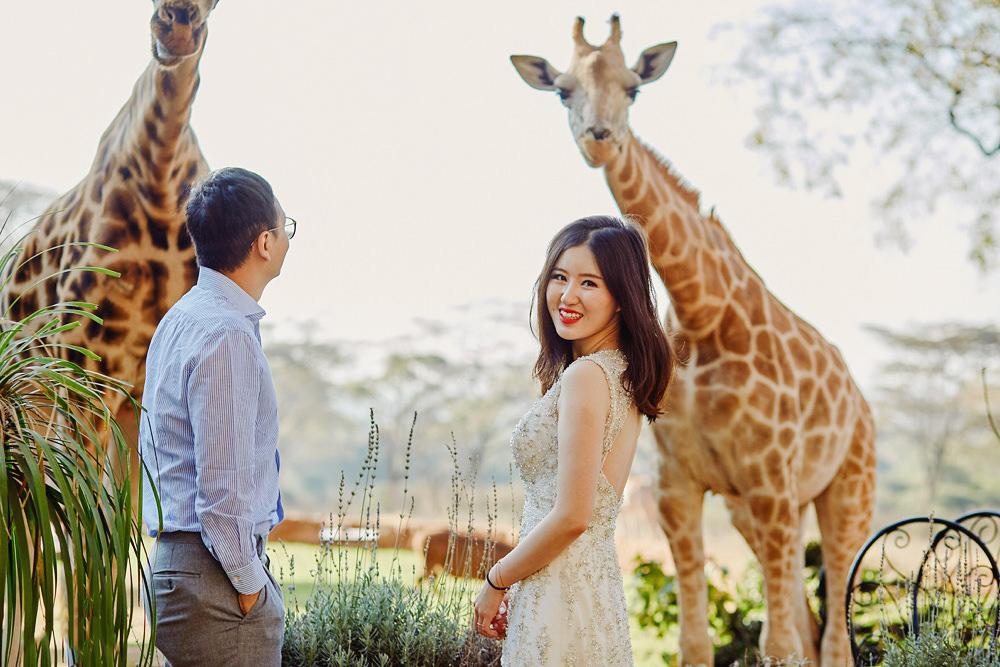 Giraffe Manor Nairobi Destination Wedding
