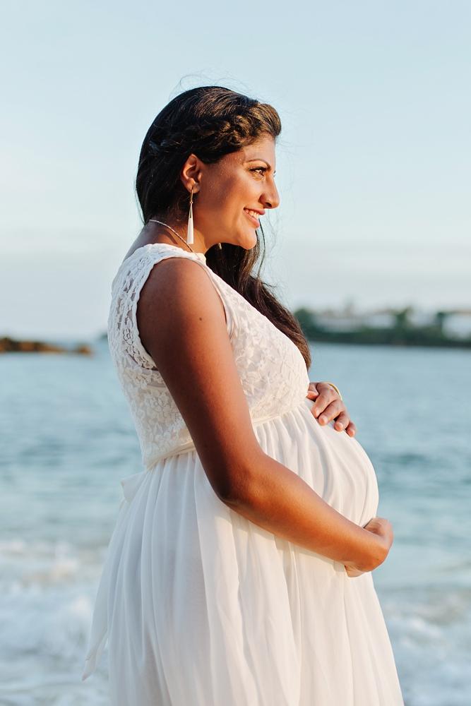 Beach Maternity Photography in Mombasa, Kenya