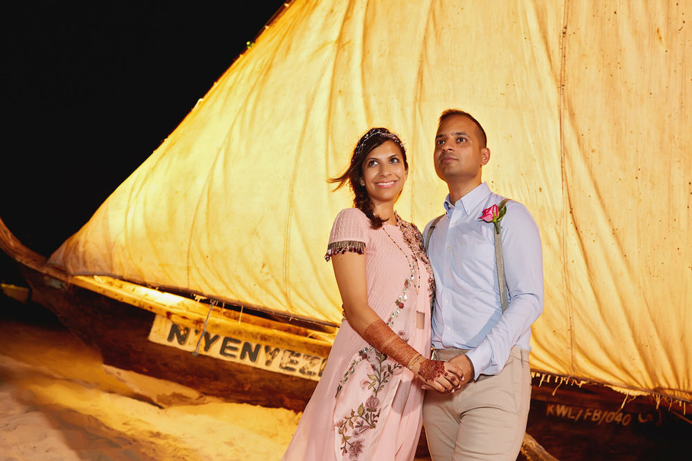 Diani Beach Kenyan Wedding Photographer Mehndi Night