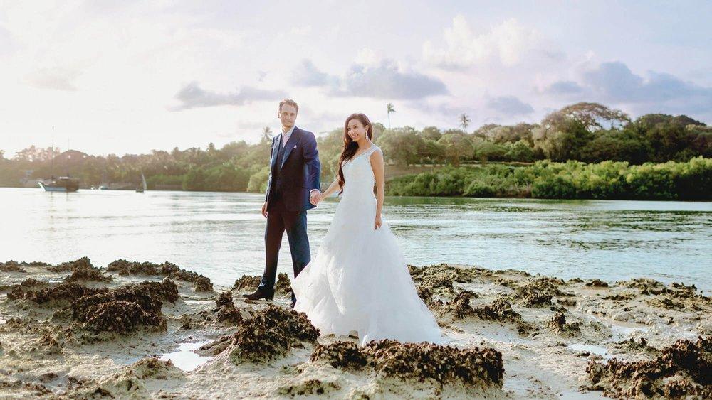 Kenya Wedding Photographer, Beach and Safari Honeymoon.   Best Love Story Photography Destination!