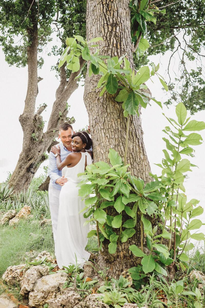 Diani Beach Kenyan engagement photos