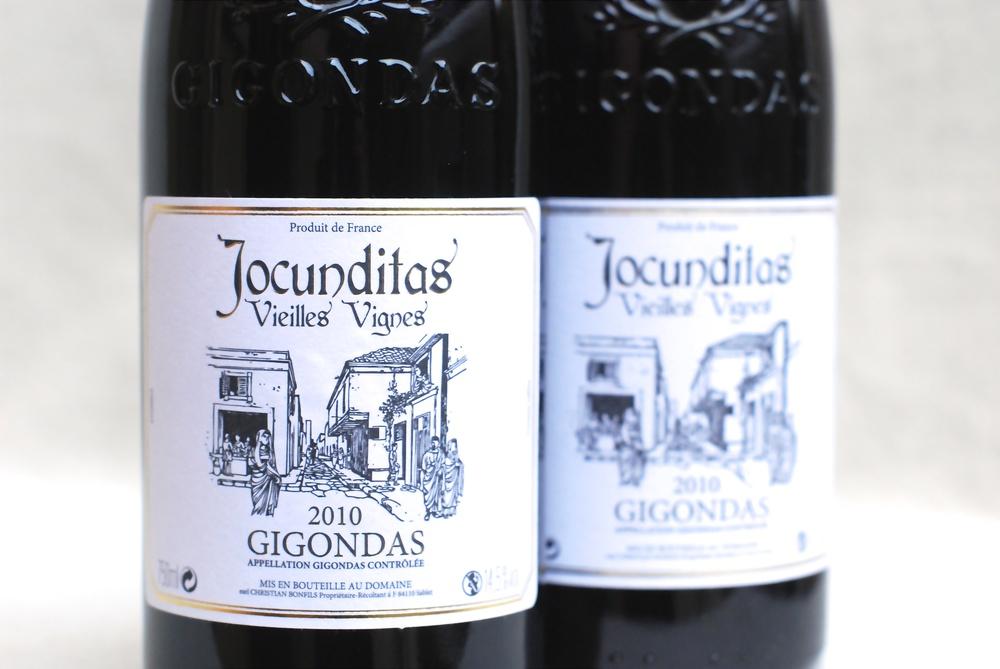 Jocunditas gigondas label.JPG