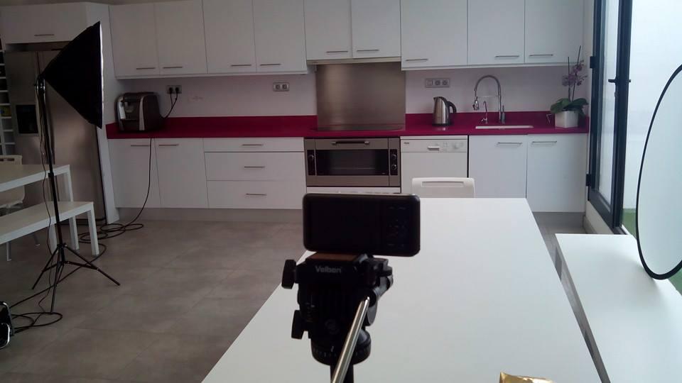 La pequeña BMPCC de ZigZagVideoMarketing en el set de rodaje.