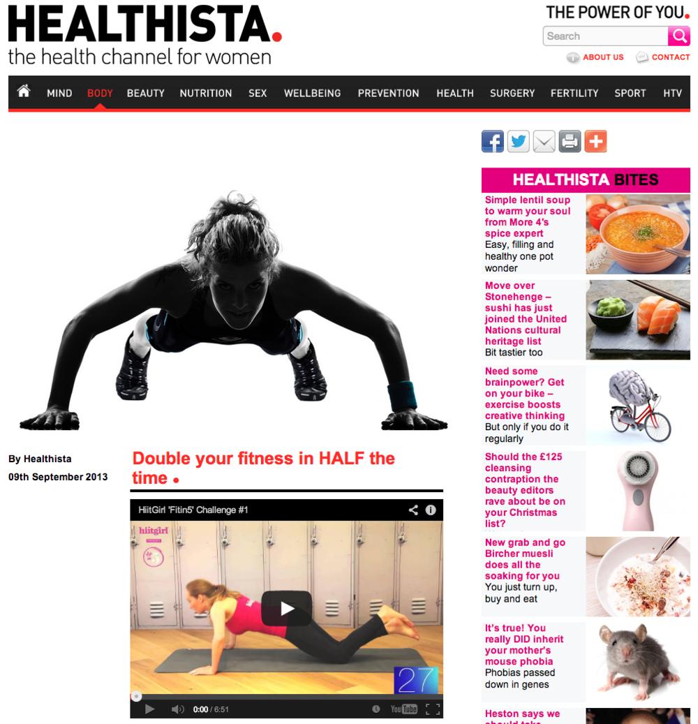 Healthista, Sep 2013