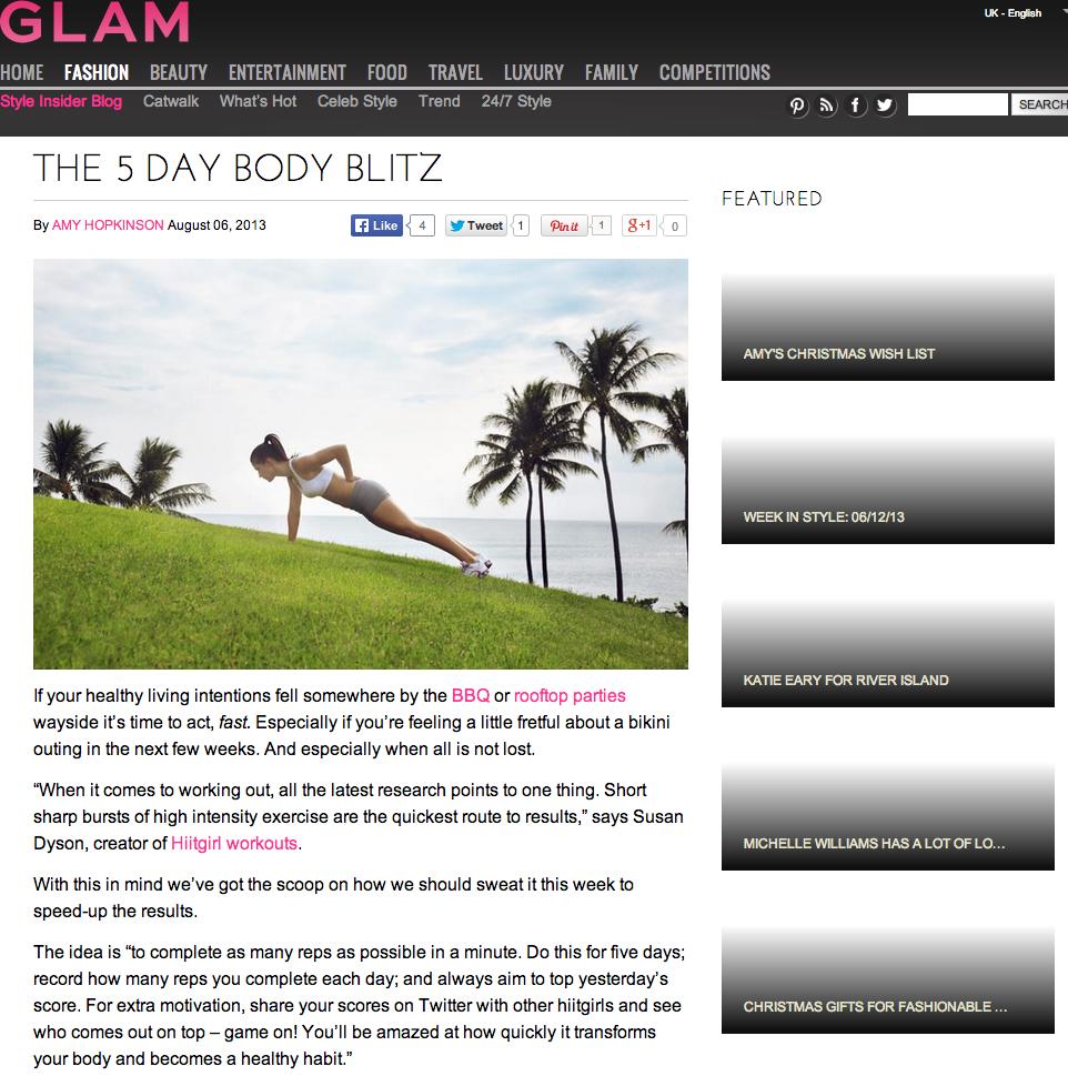 Glam.com, Aug 2013