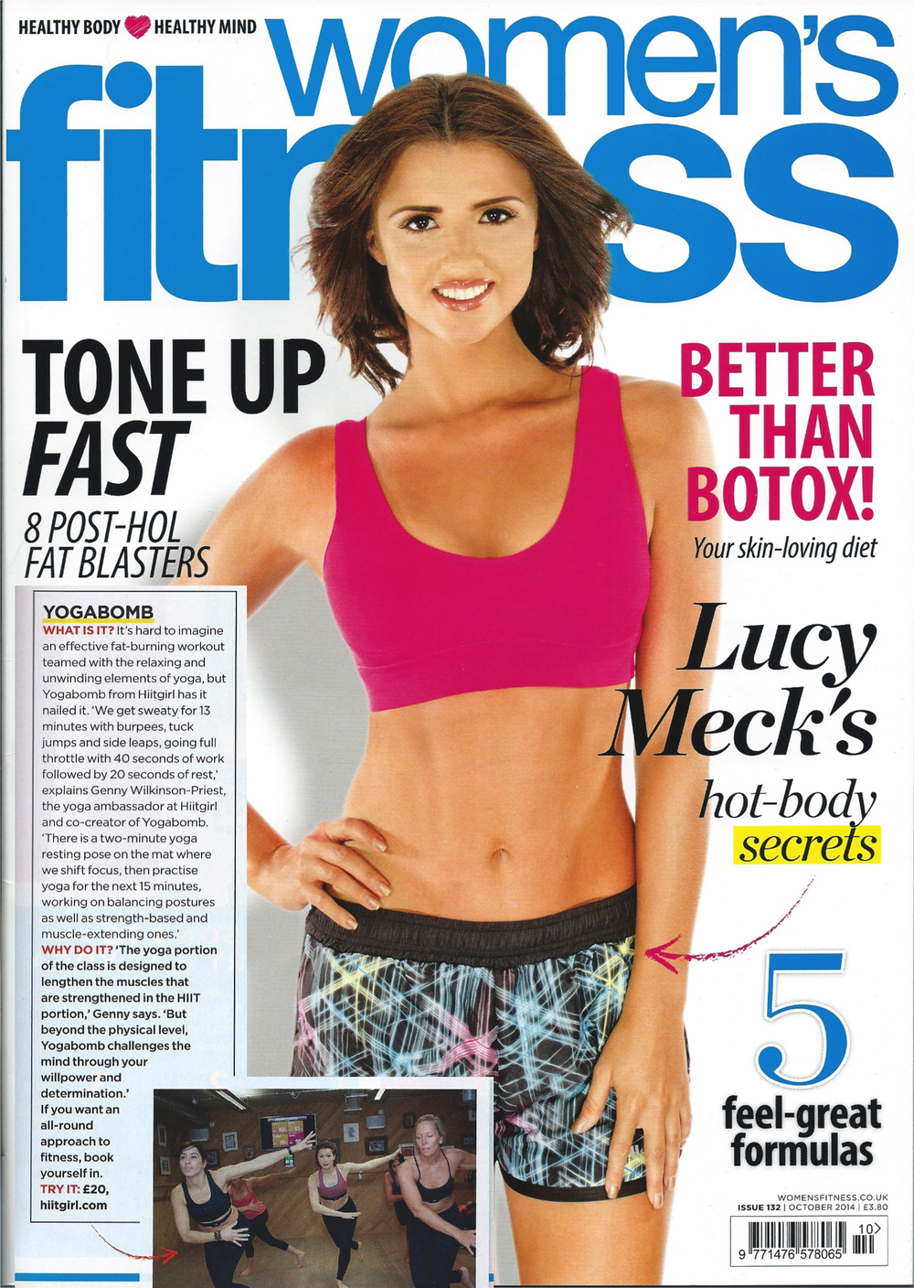 Women's Fitness, Oct 2014