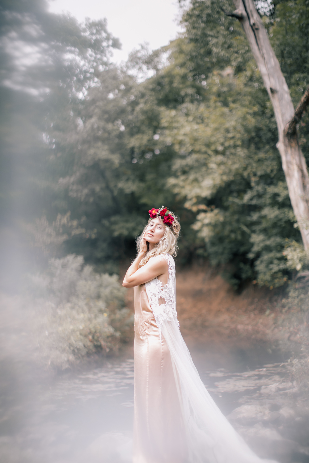 bewitching editorial shoot