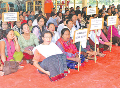 Imphal Ring Road Protest